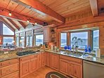 The chef will love the gourmet, fully equipped kitchen.