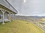 Enjoy panoramic views of Sugar Mountain and Beech Mountain.
