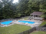 Cobbly Knob subdivision features 3 complex pools available Memorial Day to Labor Day