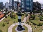 FARO DE LA MARINA ( Sea lighthouse), 15 minutes walking distance.