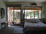 Bedroom with adjoining Sun Room