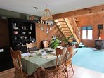 Alpine escape w/ a prime location close to hiking, skiing, snowmobiling, & golf!