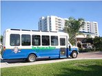 Shuttle Service To & From Beach Across The Street