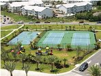 Tennis Courts,/ Basketball Court & Playground