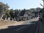 Shanklin Old Village just 1 minute walk