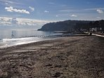 Shanklin Beach just 5 minutes walk