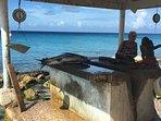 Fresh fish for sale at Playa Grandi