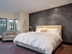 Luxurious and comfortable master suite in our Dana Point luxury home