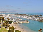 Dana Point Harbor is less than 3 miles from this vacation home.