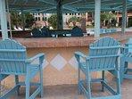 Relax around the resort pool