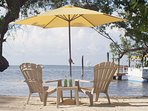 Your own private beach in Key Largo.