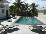 L'espace terrasse piscine
