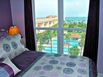 Watch the Gulf from your king-size bed