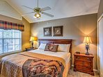 All 3 bedrooms feature king-sized beds.