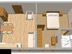 C(2+2): floor plan