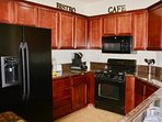 This fabulous kitchen is equipped with everything you need