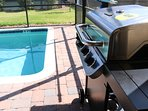 BBQ Gas Grill with 5 burners - optional add-on to booking