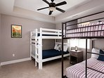 Bunk Room - double bunk set and twin bunk set