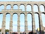 Acueducto de Segovia a 10 minutos en coche