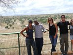 At Tarangire National park with my guest