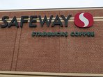 Safeway grocery with small Starbucks is a few blocks north of the Walmart Supercenter on Georgia Ave