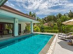 Baan Timbalee, family villa & Pool with fence
