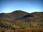 Brass town Bald Mountain... the highest peak in Georgia.