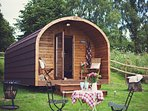 45366 Log Cabin in Hay on Wye