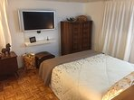 The loft has its own widescreen SmartTV with AppleTV, and a private bathroom!