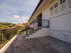 Balcony - Ideal for BBQ and small functions.