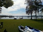 absolute waterfront best lake in Australia. swim sail, cruise kayak off or fish off private jetty