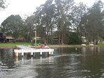 own private jetty for boats to moor at, for fishing, to sit on and enjoy the fantastic lake