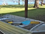 dinghy for you to use with kayaks and surf ski