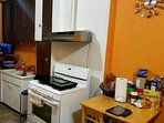 Kitchen is always nice and clean. Please free to use the toaster, microwave, stove, & refrigerator.