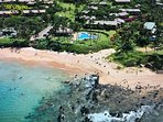 Keawakapu Beach & Pavilion Pool - Direct access from our condo. Great Snorkeling