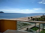 Enjoy in the most inspiring sea views over the blue Mediterranean sea and beach