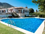 Andalucian villa with pool just 5 mins from beach