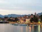 Port of Cavtat.