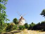 The Joucas restored windmill.