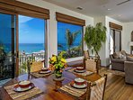 Spectacular Ocean Views, Walk to Beach from Gated Luxury Home