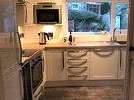 new 2017 state of the art kitchen   fridge freeze  washing machine dryer dishwasher wine fridge.