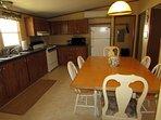 Family sized kitchen