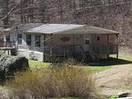 Our Raindance cabin has  3 bedrooms and 2 bathrooms with hot tub on porch