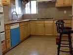 Large and convenient kitchen.