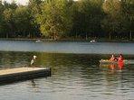 Kayaking at Dow's lake