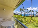 Napili Shores G-256 --- In addition to the wonderful views of the Pacific, amenities include two pools, shuffle board...