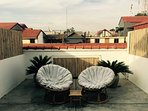 The Kandal roof top sun lounge.