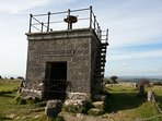 Spectacular 360 degree views from 'The Hospice' on Hampsfell, an easy walk from Cartmel Manse.