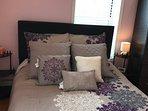 Bedroom 3: 1 queen bed and closet