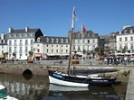 The harbourfront at Vannes